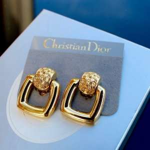 Tolle Christian Dior Ohrringe (Clips) glänzend Musthave