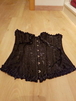 Corsage noir polyester