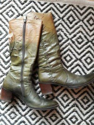 Tolle Cowboy Boots mit Stickerei - wie ungetragen