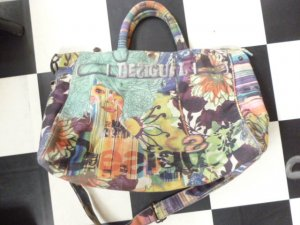 Desigual Canvas Bag multicolored