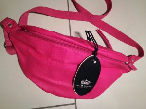 Friis & Company Bumbag pink leather
