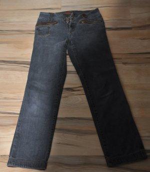 Jeans svasati nero Cotone