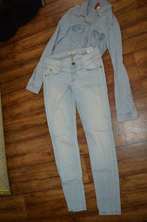 Pimkie Jeans stretch bleu clair