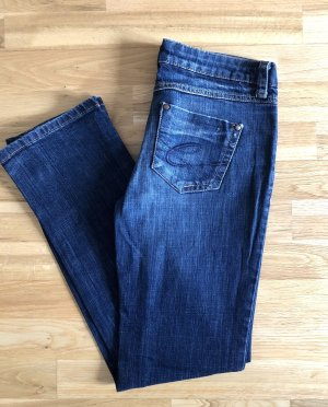 edc by Esprit Low Rise jeans donkerblauw