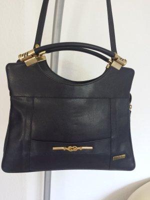 Tolle Designer Tasche Kelly Bag Shopper Echt Leder Schultertasche
