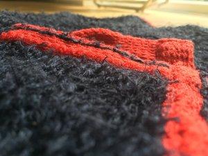 Tolle dunkelblaue Strickjacke von Strenesse