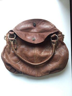 Tolle Echtleder Handtasche von Cowboysbag in braun