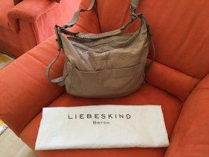tolle Echtleder Handtasche von Liebeskind in Beige Vintage-Style mit Dustbag