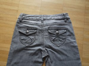 Tolle EDC by Esprit Five Slim Jeans Gr. 26/32 Hellgrau Top Zustand