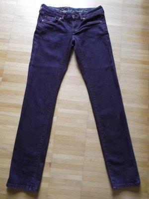 Tolle EDC by Esprit Five Slim Jeans Gr. 27/32 Lila/Weinrot NEUwertig