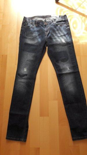Edc Esprit Vaquero azul acero-azul oscuro
