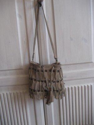 Tolle Fransenledertasche von Zara