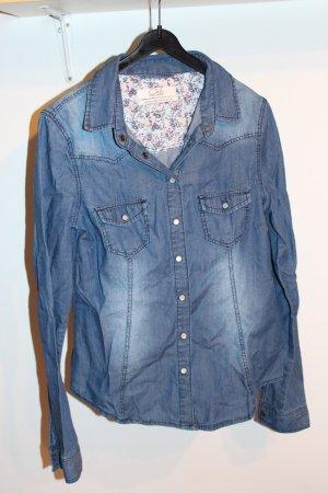 Tolle gemütliche Jeansbluse - Größe 38