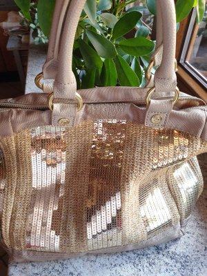George Gina & Lucy Handtas goud-licht beige