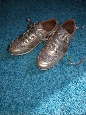 Tolle goldene Sneaker, elegant und stilvoll gr 39