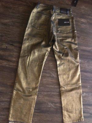 Tolle goldfarbene Jeans von Otto Kern - NEU -