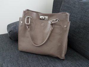 Tolle graue Handtasche