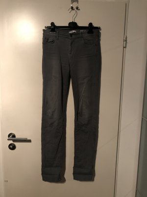 7 For All Mankind Vaquero rectos gris