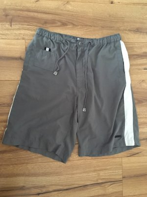 Feel Good Collection Sport Shorts grey-natural white