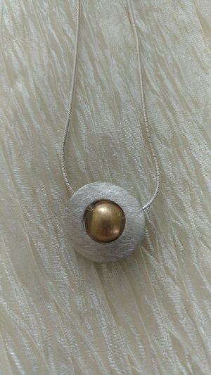 Pendant gold-colored-light grey