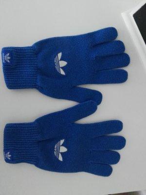 Adidas Gants bleu fluo