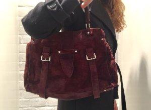 Tolle Handtasche aus Wildleder von Gabriele Strehle/ Strenesse