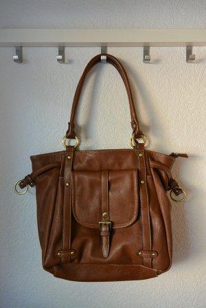 Tolle Handtasche braun L.Credi