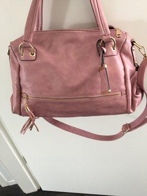 Tolle Handtasche, Rosè/Gold