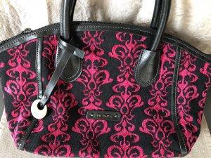 Tolle Handtasche von Picard in schwarz/pink