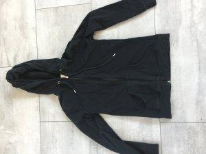 Tolle Hausjacke / Trainingsjacke von Esprit schwarz mit Kapuze