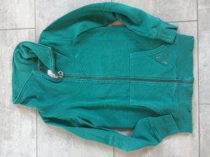 Tolle Hausjacke / Trainingsjacke von Esprit türkis