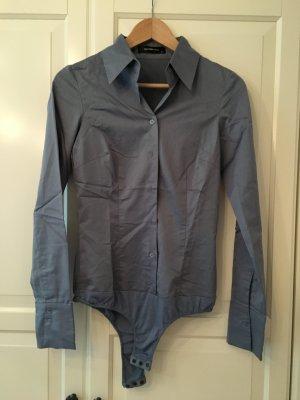 Tolle hellblaue Body Bluse von Hallhuber Gr. 34