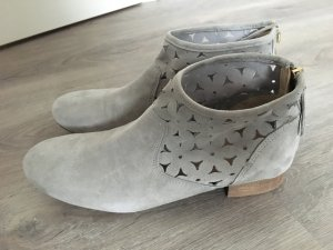 Tolle hellgraue van der Laan Stiefel, nur einmal getragen