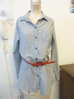Tolle Hemdbluse H&M Matrosenstyle blau/weiß gestreift