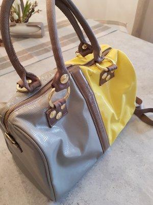 George Gina & Lucy Handbag light grey-yellow