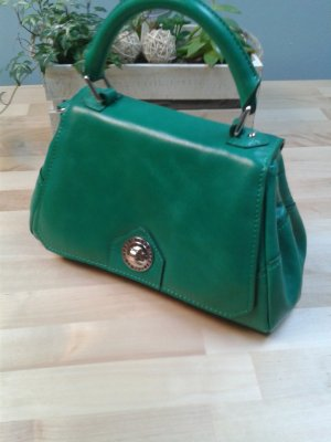 L.credi Carry Bag green leather