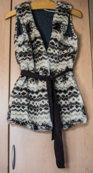 Zara Trafaluc Knitted Vest multicolored polyacrylic