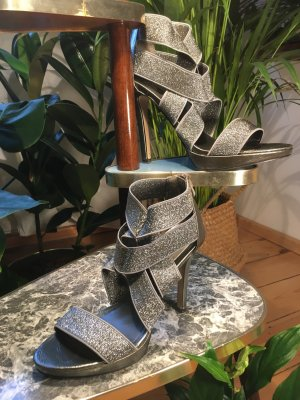 Blink High Heels silver-colored