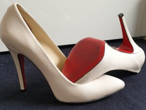 Christian Louboutin High Heels natural white