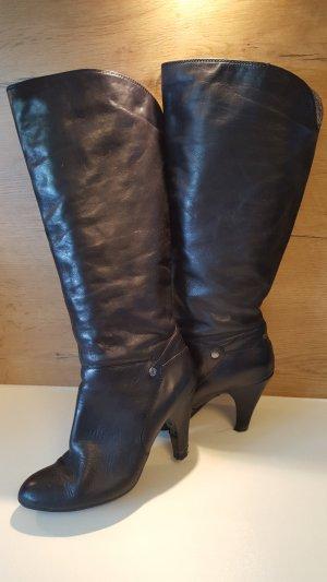 Tolle hohe Stiefel mit hohem Schaft, EDC, schwarz, Gr. 40