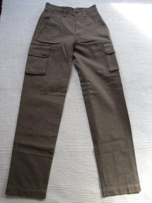 tolle hose cargo khaki neu gr. xs 34 / s 36 mason's