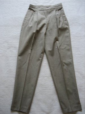 tolle hose chinos sisley beige neu gr. s 36 wolle