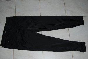 tolle Hose für Party oder Casual :-) schwarz glänzend Größe 36 / 38