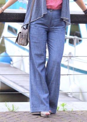 Tolle Hose in Jeans Optik mit weitem Bein von Eve in Paradise Gr. 36