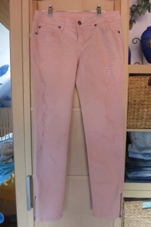 Rainbow Pantalone a sigaretta rosa