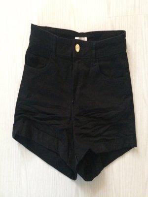 H&M Short moulant doré-noir