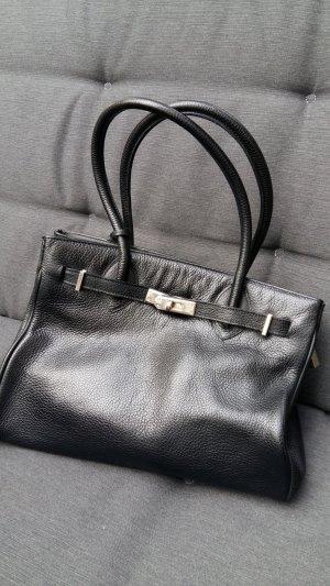 Tolle italienische Handtasche im Birkin Style