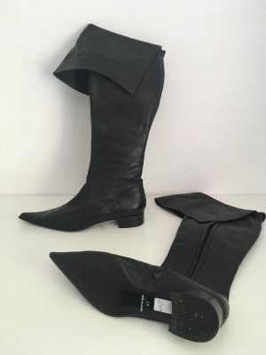 High Boots black leather