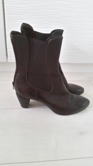 Booties brown-grey brown