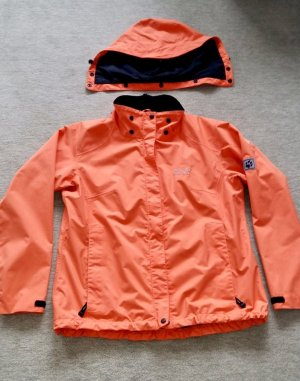Jack Wolfskin Outdoor Jacket orange-black
